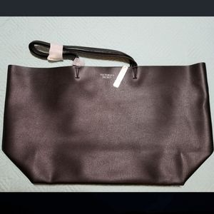 Victoria Secret (Large Black Tote Bag)